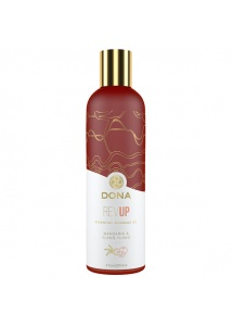 Olejek do masażu - Dona Essential Massage Oil Rev Up 120ml  Mandarynka